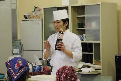料理教室をしました~
